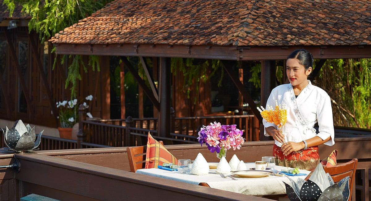 Chakrabongse Villas - experiences - Dining