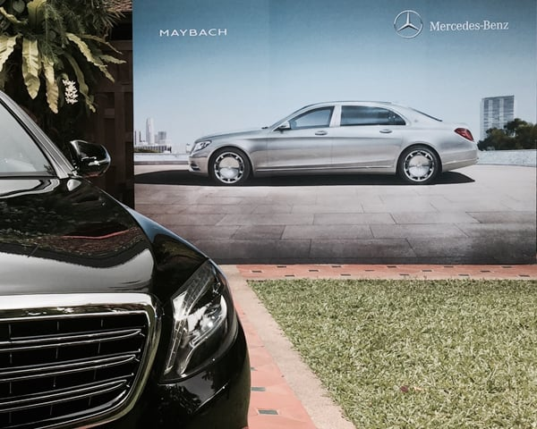 Chakrabongse Villas - Mercedes Maybach