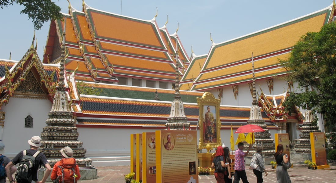 Chakrabongse Villas - Nearby attractions - Wat Pho, the Temple of the Reclining Buddha